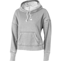 Reebok Women's Yoga Burnout Cowl Neck Hoodie