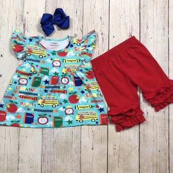 RTS- Blue & Red Schools Days 2pc. D12