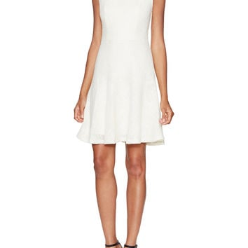 Annapolis Lace Trim Flared Dress