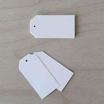 Die Cut Shipping Tags : Cream [20pk]