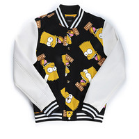 BART FACE JACKET / BLACK X OFF WHITE - JOYRICH Store