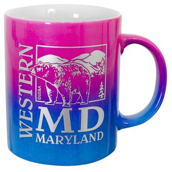 CMMD42 Coffee Mug Rainbow Western Maryland