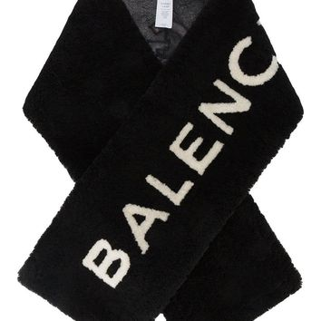 Shearling Couture Scarf by Balenciaga