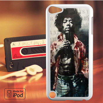 Jimi Hendrix Music Band iPod Touch 4 iPod Touch 5 iPod Touch 6 Case