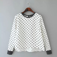 Stylish Pullover Blouse [6513882567]
