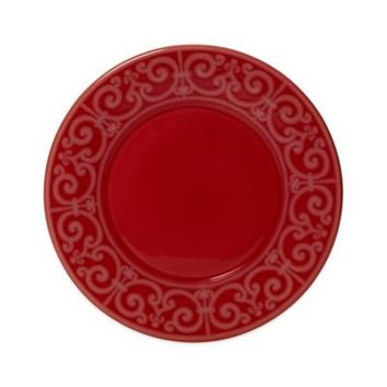 Mikasa® Sutton Dinner Plate in Crimson