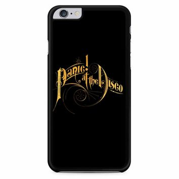 Panic At The Disco Gold Logo iPhone 6 Plus / 6s Plus Case