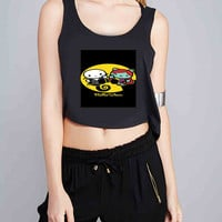 Hello kitty nightmare before Christmas for Crop Tank Girls S, M, L, XL, XXL *NP*