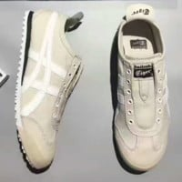 ASICS  Onitsuka Tiger Mexico Trending Fashion Women Casual Sports Shoes White G-PSXY