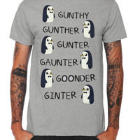 Adventure Time Gunter Names T-Shirt