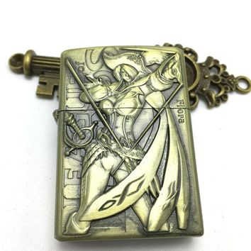 Game League Of Legends Vintage Character Lighter - Fiora