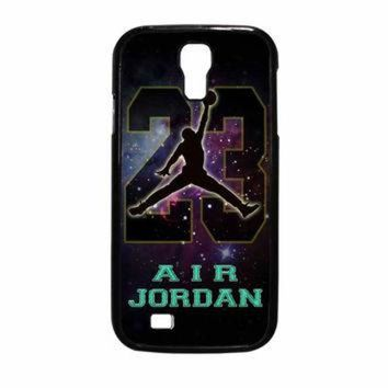 CREYUG7 Nike Air Jordan Galaxy Nebula Star Samsung Galaxy S4 Case
