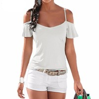 Casual Beach T Shirt for Women