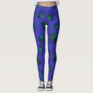 Cannabis Leggings