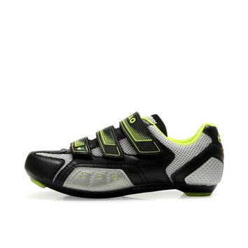 TIEBAO 6-943 Outdoor Road Cycling Shoes Auto-Lock Bike Shoes Compatible With SPD, SPD-SL, LOOK-KEO Cleat Road Bicycle Shoes