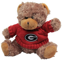 Georgia Bulldogs Large High End Teddy Bear - http://www.shareasale.com/m-pr.cfm?merchantID=7124&userID=1042934&productID=540328463 / Georgia Bulldogs