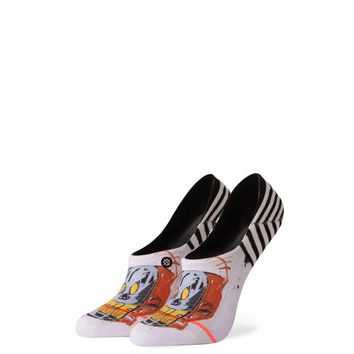 Stance x Basquiat - WOMEN'S MR ROBOTO - OFF WHITE