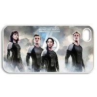 The Hunger Games Catching Fire Stylish Printing Iphone 4/4s DIY Cover Custom Case-01288-04
