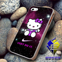 Hello Kitty Nike Just Do It FS Design For iPhone Case Samsung Galaxy Case Ipad Case Ipod Case