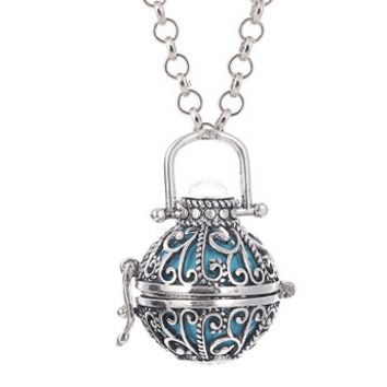 Caller Sounds 16mm  Harmony Ball with Chain Necklace
