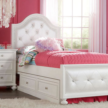 Daphne Twin Size Upholstered Bed