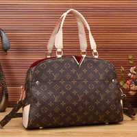 LV Women Shopping Bag Leather Tote Crossbody Satchel Shoulder Bag Handbag