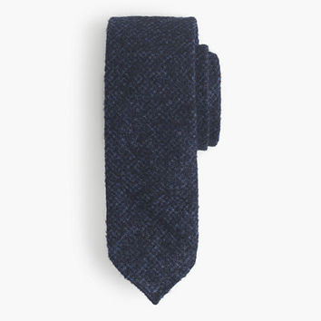 J.Crew Mens Drake's English Alpaca-Wool Tie In Houndstooth