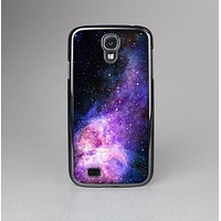 The Vibrant Purple and Blue Nebula Skin-Sert Case for the Samsung Galaxy S4