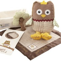 Baby Aspen, My Little Night Owl Five-Piece Baby Gift Set
