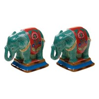 Tracy Porter For Poetic Wanderlust 'Eden Ranch - Elephant' Salt & Pepper Shakers