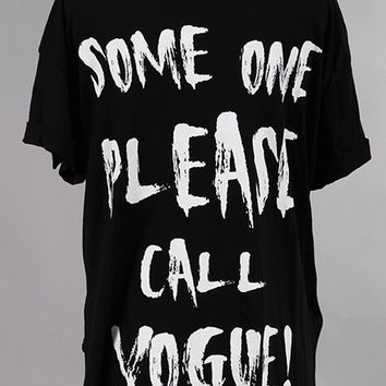 CALL VOUGE TSHIRT