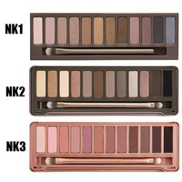 [3 in 1 Deal] Naked Eyeshadow Palette NK 1 2 3 make up palette