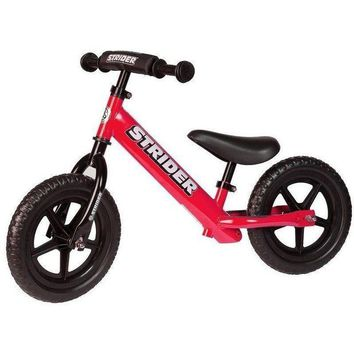 DCCK1IN strider 12 sport kids balance bike no pedal learn to ride pre bike red new