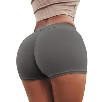 Sport Shorts For Women High Waist Summer Yoga Shorts Quick Dry Breathable Athletic Shorts Women Short Deportivo Mujer 30ST25