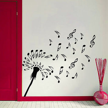 Shop dandelion vinyl wall decal on wanelo for C meo bedroom wall dress