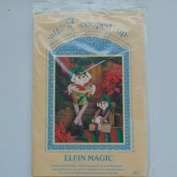 Elfin Magic Elf Doll Christmas Doll pattern by All Cooped Up
