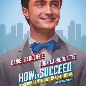 How to Succeed in Business Without Really Trying 11x17 Broadway Show Poster (2011)