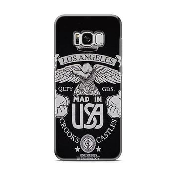 LOS ANGELES CROOKS AND CASTLES Samsung Galaxy S8 | Galaxy S8 Plus case