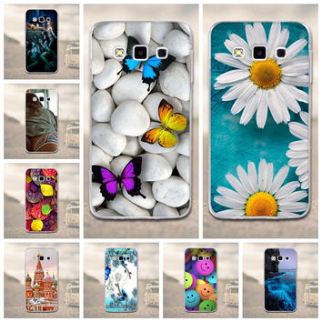 Phone Cover For Samsung Galaxy A3  Cases Soft TPU Silicon 3D Phone Back Cover For Funda Samsung Galaxy A3 2015 A3000 Case