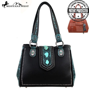 Montana West MW129G-8036 Concealed Carry Handbag