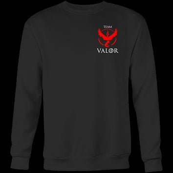 Pokemon team valor Sweatshirt  T Shirt - TL00630SW