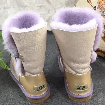 Ugg Women Male Fashion Wool Snow Boots-201
