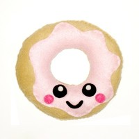 Donut Plush Cushion