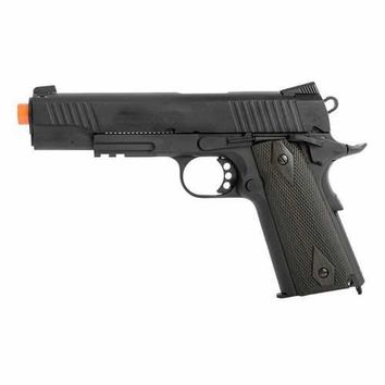 Colt Government 1911 Airsoft GBB Pistol, Black