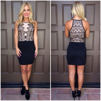 When Midnight Strikes Bodycon Dress
