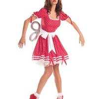 Wind Up Doll Adult Womens Costume – Spirit Halloween