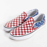Vans Van Doren Stars + Stripes Slip-On