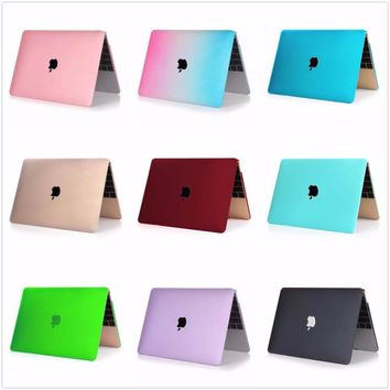 Mosiso Muti-color protective Hard shell Case for Macbook 12 inch with Retina display Model A1534 Laptop Replacement Cover
