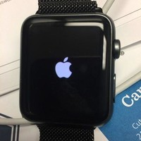 LMFGQ6 Apple Watch (1st Gen) 42mm 7000 series (Space Gray Aluminum Case)