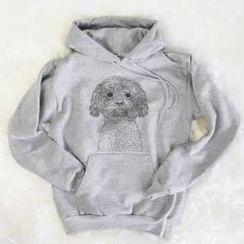 Lane the Lhasa Apso - Mens Hooded Sweatshirt